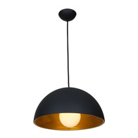 Access 23766-MBL/MGL Astro 1 Light 19 inch MBL/MGL Pendant Ceiling Light