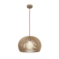 Access Lighting Kobu 1 Light Pendant in WD/NAT 23775-WD/NAT