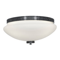 Access Lighting Onyx 3 Light Flush-Mount in Chrome with Opal Glass 23866-CH/OPL