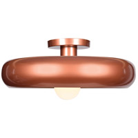 Access 23880LEDDLP-CP/GLD Bistro LED 16 inch Copper and Gold Flush Mount Ceiling Light