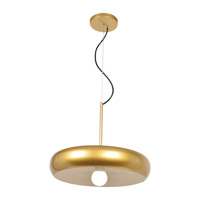 Access 23882LEDDLP-GLD/WHT Bistro LED 16 inch Gold and White Pendant Ceiling Light
