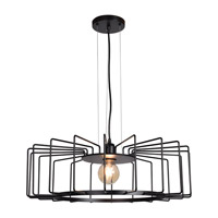 Access 23890LEDDLP-BL Wired LED 23 inch Black Pendant Ceiling Light