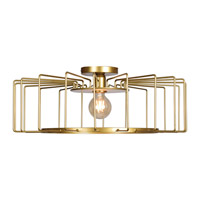 Access 23892LEDDLP-GLD Wired LED 23 inch Gold Flush Mount Ceiling Light