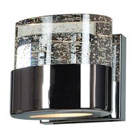 Access 23925-CH/CLR Bubbles 1 Light 5 inch Chrome Vanity Light Wall Light