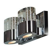 Access 23926LEDDLP-CH/CLR Bubbles LED 12 inch Chrome Vanity Light Wall Light