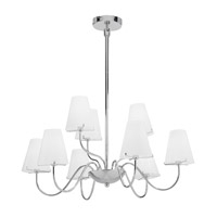 Access Lighting Cosmopolitan Vienna 9 Light Chandelier in Chrome 23966-CH/OPL photo thumbnail