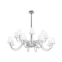 Access Lighting Cosmopolitan Vienna 16 Light Chandelier in Chrome 23967-CH/OPL photo thumbnail