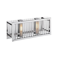 Access Lighting Gemini 2 Light Vanity in Chrome 23972-CH/CCL photo thumbnail
