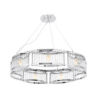 Access Lighting Gemini 7 Light Chandelier in Chrome 23979-CH/CCL photo thumbnail