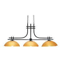 Access Lighting Ambrato 3 Light Pendant in Antique Bronze 26116-ABRZ/AMB photo thumbnail