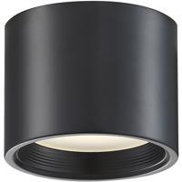 Access 50005LEDD-BL/ACR Reel LED 5 inch Black Flush Mount Ceiling Light