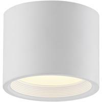 Access 50005LEDD-WH/ACR Reel LED 5 inch White Flush Mount Ceiling Light