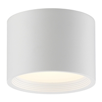 Access 50006LEDD-WH/ACR Reel LED 7 inch White Flush Mount Ceiling Light