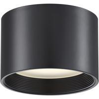Access 50007LEDD-BL/ACR Reel LED 8 inch Black Flush Mount Ceiling Light