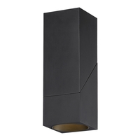 Access 50011LEDD-BL/CLR Transformer LED 3 inch Black Flush Mount Ceiling Light