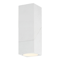 Access 50011LEDD-WH/CLR Transformer LED 3 inch White Flush Mount Ceiling Light