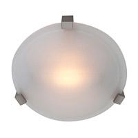Access Lighting Cirrus 1 Light Flush Mount in Satin 50060-SAT/FST photo thumbnail