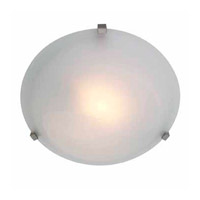 Access Lighting Cirrus 1 Light Flush Mount in Satin 50064-SAT/ALB