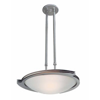 Access Lighting Triton 1 Light Pendant in Brushed Steel 50078-BS/FST photo thumbnail