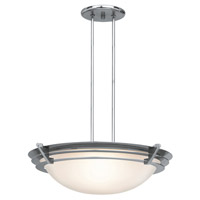 Access Lighting Saturn 1 Light Pendant in Brushed Steel 50090-BS/FST
