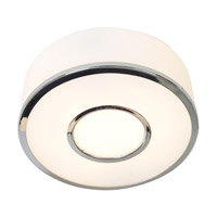Access Lighting Aero 1 Light Flush Mount in Chrome 50142-CH/OPL photo thumbnail