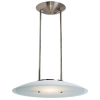 Access Lighting Argon 1 Light Pendant in Brushed Steel 50434-BS/FST photo thumbnail