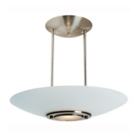 Access Lighting Argon 1 Light Pendant in Brushed Steel 50454-BS/FST