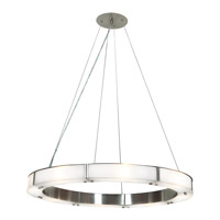 Oracle LED 28 inch Brushed Steel Chandelier Ceiling Light