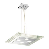 Access Lighting Silica 4 Light Pendant in Chrome 50472-CH/CCL photo thumbnail