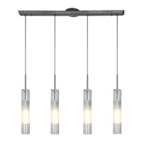 Access 50549-BS/CLOP Dezi 4 Light 2 inch Brushed Steel Pendant Ceiling Light