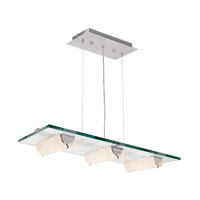 Access Lighting Phoebe 6 Light Pendant in Aluminum 50552-ALU/8CL