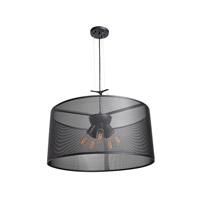 Epic LED 24 inch Black Pendant Ceiling Light