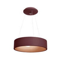 Access 50940LEDD-BRK/ACR Radiant LED 18 inch Brick Pendant Ceiling Light