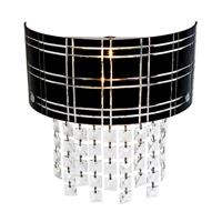 Access Lighting Kalista 2 Light Sconce in Chrome 50970-CH/BL photo thumbnail