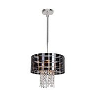 Access Lighting Kalista 4 Light Pendant in Chrome 50972-CH/BL