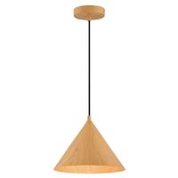 Access 52055LEDDLP-WGN Timber LED 11 inch Wood Grain Pendant Ceiling Light