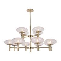 Access 52094LEDDLP-BS/CLR Grand LED 42 inch Brushed Steel Chandelier Ceiling Light