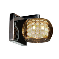 Access 52111-CH/MIR Glam 1 Light 5 inch Chrome Bath Light Wall Light in  4.75 inch alternative photo thumbnail