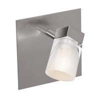 Ryan Brushed Steel 40 watt 1 Light Spotlight