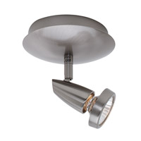 Access Lighting Mirage 1 Light Spotlight in Brushed Steel 52220-BS