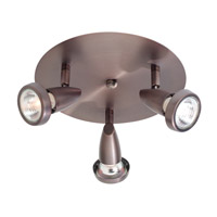 Access Lighting Mirage 3 Light Spotlight in Bronze 52221-BRZ