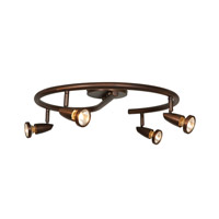 Mirage 4 Light 120v Bronze Track Lighting Ceiling Light