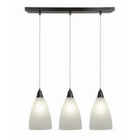 Access Lighting Tsuki 3 Light Maxi Pendant in Oil Rubbed Bronze 52306-ORB/RFR photo thumbnail