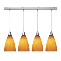Access Lighting Safari 4 Light Maxi Pendant in Brushed Steel 52425-BS/SLA photo thumbnail