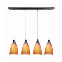 Access Lighting Safari 4 Light Maxi Pendant in Oil Rubbed Bronze 52425-ORB/SLA photo thumbnail