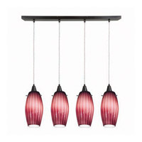 Access Lighting Fleur 4 Light Maxi Pendant in Oil Rubbed Bronze 52476-ORB/PLM photo thumbnail