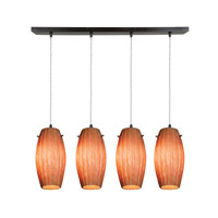 Access Lighting Fleur 4 Light Maxi Pendant in Oil Rubbed Bronze 52776-ORB/AMM photo thumbnail