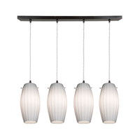 Access Lighting Fleur 4 Light Maxi Pendant in Oil Rubbed Bronze 52776-ORB/OPL photo thumbnail