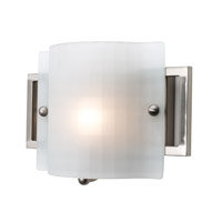 Access Lighting Nara 1 Light Vanity in Brushed Steel 53311-BS/CKF