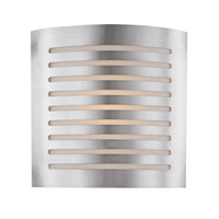 Krypton 2 Light 12 inch Brushed Steel ADA Sconce Wall Light